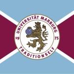 130530_Uni Marburg Fahne_gold_weiss